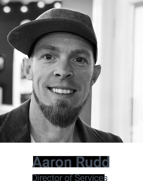 AaronRudd - Director of Services